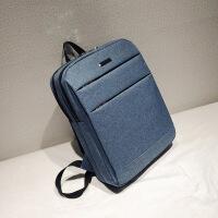 男士商务智能双肩包时尚学校双背休闲笔记本电脑背包旅行包 12寸