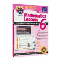 SAP Mathematics Lessons 6新加坡新亚出版社数学课堂练习册六年级套装英文原版进口图书小学教辅12
