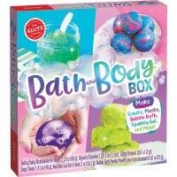 【现货】英文原版 自己做浴球 儿童手工书 Bath and Body Box 动手能力培养 DIY玩具书 978133