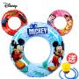 迪士尼儿童游泳圈3-5-6-8-10岁女童男童泳圈宝宝米奇女孩救生圈