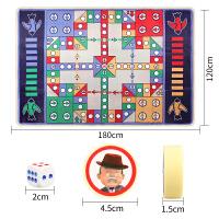 双面飞行棋地毯大富翁游戏棋地毯垫儿童亲子桌游益智聚会玩具