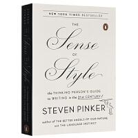 The Sense of Style 风格感觉 英文原版 21世纪写作指南 写作风格的意识 英文版参考书 Steven