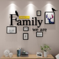【每满100减50 限时包邮】物有物语 照片墙 家庭照片墙 实木相框墙 创意组合客厅相框挂墙悬挂