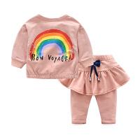 新生儿女童棉衣服婴儿外套裤子春秋装宝宝0岁1个月3新生儿2春装