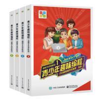 正版现货 青少年趣味编程适用于中学阶段 共4册 乐高机器人编程制作搭建方法技巧教程书籍