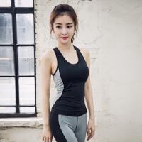 美背瑜伽背心女带胸垫性感紧身简约百搭速干运动上装夏健身房