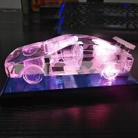 生日礼物男生送男友朋友男士实用的创意DIY个性水晶车模礼品定制