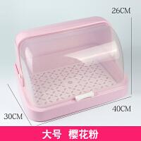厨房置物架调料收纳盒架子杯子水杯沥水架 放碗架碗筷收纳箱带盖