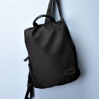 背包男双肩包男书包男时尚潮流韩版英伦男士包包学生旅行 黑色