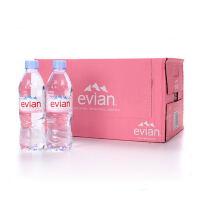 法国进口依云(evian)天然矿泉水500ml*24瓶