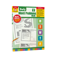 Evan Moor Daily Word Problems Math Grade 5 每日一练应用题练习册 小学五年级
