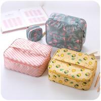 化妆包便携式大容量洗漱包旅行收纳包防水多功能手拿包收纳袋