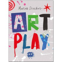 【�A�】英文原版 Art Play 玩��g 素描色彩形�钔苛显旒�印刷和�D案 ��意��g Marion Deuchars �