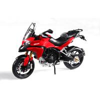 1:12拼装车模摩托车杜卡迪/怪兽696合金拼装摩托车模型拼装
