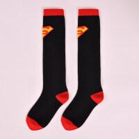 儿童足球袜中筒袜小学生足球长袜薄款男子儿童运动袜女透气夏季 黑色