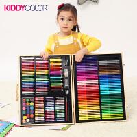 当好妈儿童画笔木盒绘画套装彩笔礼盒美术画画工具箱礼品生日礼物