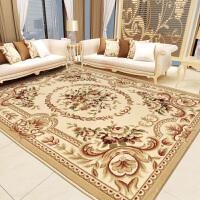 欧式地毯客厅沙发茶几垫小卧室床边毯房间满铺长方形家用美式SN1612 2.8×3.8米 毯厚15毫米 重40.5斤