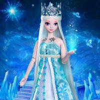 叶罗丽娃娃正品冰公主仙子精灵梦夜萝莉全套白光莹叶萝莉女孩玩具