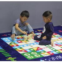 飞行棋地毯地垫大号毛绒飞机棋游戏棋子儿童爬行垫