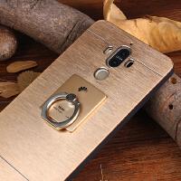 华为mate9手机壳保护套金属mate8个性创意潮男款m9带指环支架硬壳