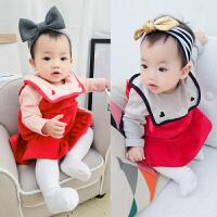 2018050555298婴儿童装春秋冬裙子3个月0岁1洋气宝宝2打底衫连衣裙女童公主裙子