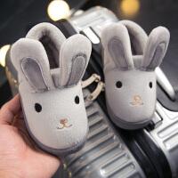儿童棉拖鞋 秋冬季可爱防滑男女童包跟家居1-3岁公主室内小孩宝宝