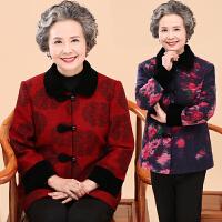 中老年人女装春装外套薄妈妈装老人衣服春秋短款唐装60奶奶装70岁
