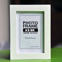 实木相框挂墙摆台 7寸5 6 8 10 A4 16寸创意木质画框照片相架 1