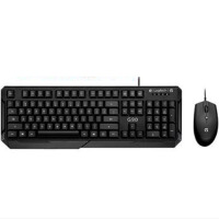 罗技 G90IC 套装 USB有线键盘鼠标套装 游戏笔记本电脑键鼠套装 G90套装