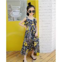 女童连衣裙夏装韩版公主裙中大童沙滩裙儿童装洋气裙子