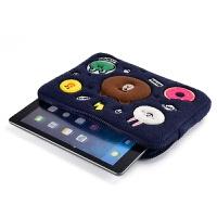 iPad平板电脑air2内胆包1/5/6迷你pro9.7寸12.9保护套mini4/3定制 蓝色 10.5寸ipadp
