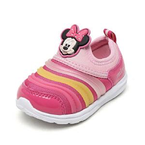 鞋柜/迪士尼秋冬季女童毛毛虫运动鞋米奇休闲鞋1