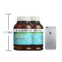 【网易考拉】【保护心血管】BLACKMORES 澳佳宝 无味深海鱼油 400粒*2瓶