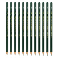 三菱(Uni) 9800 三菱铅笔绘图 素描铅笔 2B考试(12支装)当当自营