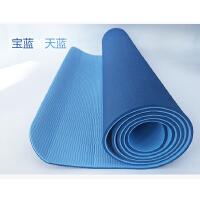无味tpe瑜伽垫 初学者6mm健身垫运动垫仰卧起坐防滑垫