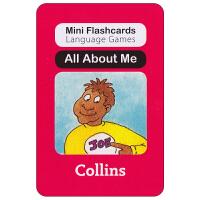 英国幼儿认字闪卡 all about me 启蒙学习创意游戏卡片