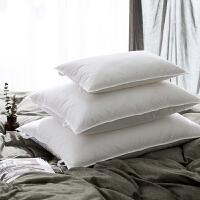 乳胶纤维枕头复合枕芯慢回弹颈椎护颈枕单人学生儿童枕
