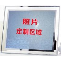 七夕礼物生日礼物女生闺蜜diy特别实用小清新韩式创意送女友18岁礼品 10寸水晶相框拼图