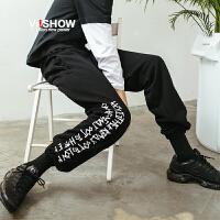 VIISHOW2018新款休闲裤男 春季新潮牌学生长裤子宽松韩版宽松男士