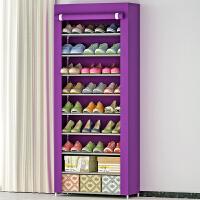 蜗家 简易鞋柜/鞋架 大容量单排鞋橱 加厚无纺布收纳柜 防尘防潮储物柜 柜子09C