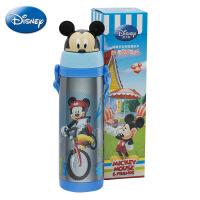 迪士尼正品个性创意保温杯 小号妙趣吸管杯 儿童卡通头便携水壶