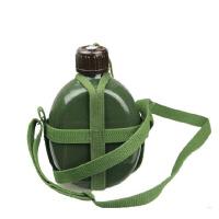 军用品 水壶 老式87铝制户外携带方便水壶加厚大容量1.2L军迷用品