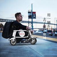折叠电动车女性迷你型电动代步车小型电瓶车电动自行车 k7s