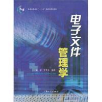 电子文件管理学,金波,丁华东,上海大学出版社9787811181913