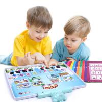 儿童点读机学拼音宝宝点读笔有声早教发声书幼儿0-3-6周岁学习机