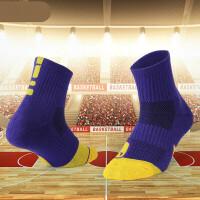 短筒篮球袜加厚毛巾底端中筒袜吸汗耐磨运动袜男士精英袜子