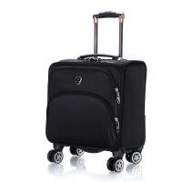 18寸牛津布小拉杆箱万向轮行李箱男女士登机箱电脑皮箱小旅行软箱TI定制 18寸