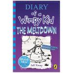 Diary of a Wimpy Kid 小屁孩日记13:崩溃 英文原版儿童故事 7-12岁