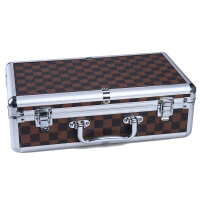 中号大号铝合金箱 麻将箱 麻将盒空箱 礼品 礼品盒