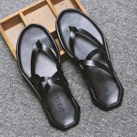 男士罗马凉拖鞋夏季室外个性休闲沙滩鞋韩版休闲潮男防滑人字拖鞋